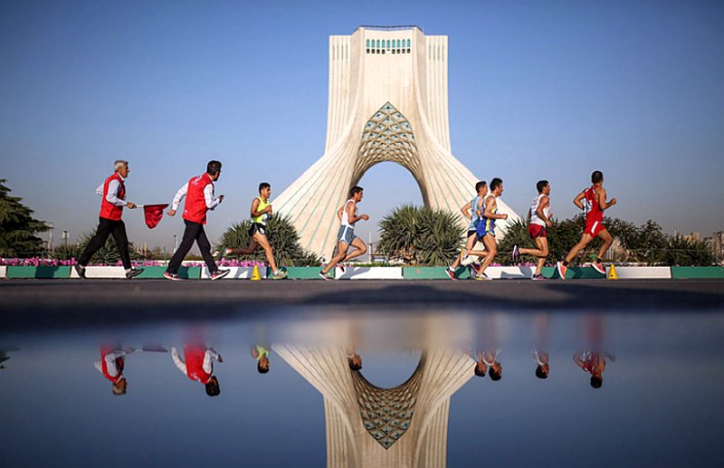 1st Tehran Marathon Maral Tours